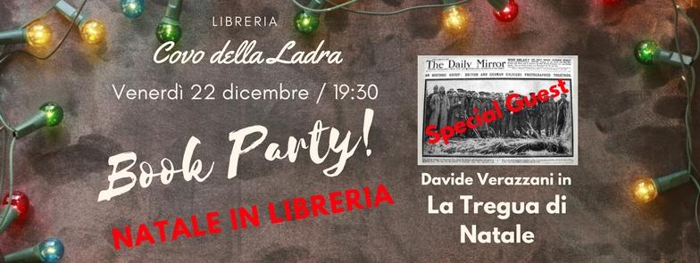 Christmas Book Party con Davide Verazzani e la sua Tregua di Natale