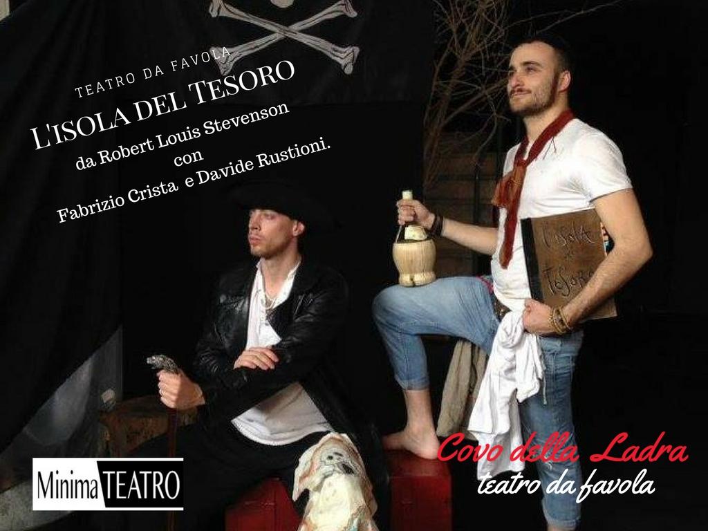 L'isola del Tesoro   Un teatro da favola – sabato 10 febbraio