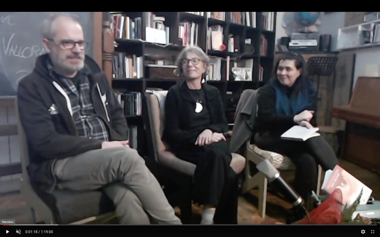 Avrai i miei occhi – incontro con l'autrice Nicoletta Vallorani, Chiara Reali e Giorgio Raffaelli