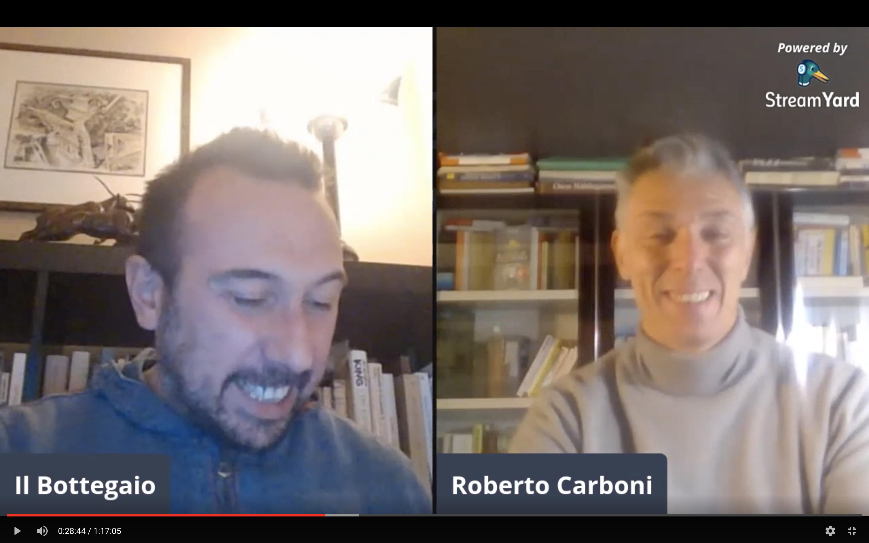 #direttaaperta con Roberto Carboni – Presenta Manuel Figliolini