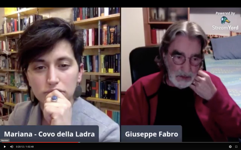 Diretta Aperta con Giuseppe Fabro – #venerdìnerorizzoli