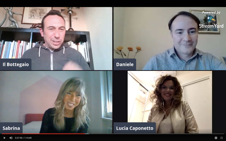 #DirettaAperta con Sabrina De Bastiani e Daniele Cambiaso per A distanza ravvicinata – VIDEO